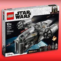 LEGO de 'The Mandalorian' de nuevo disponible en Amazon México: esta nave de Star Wars llega a costar hasta el doble en reventa