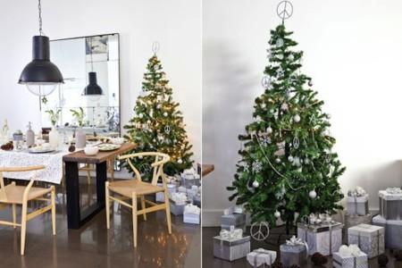seguimos con algunas ideas para vestir la mesa de navidad que encontramos en el blog de virlova tambin aqu triunfan las tendencias naturales y de
