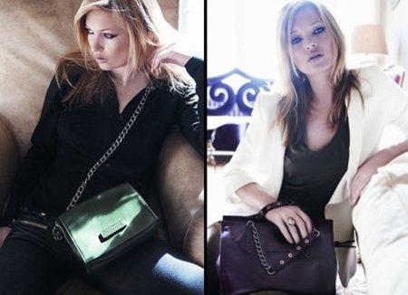 Los nuevos bolsos de Longchamp con Kate Moss: campaña Otoño-Invierno 2010/2011 I