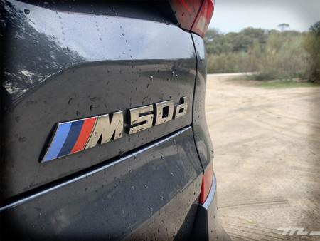 BMW X5 M50d logotipo