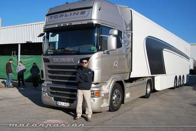 Scania R 620 Topline, miniprueba (parte 1)