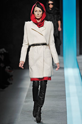 Fendi Otoño-Invierno 2009/2010 en la Semana de la Moda de Milán