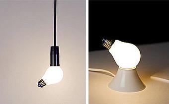 Lámpara Lamp, la reinterpretación de la bombilla