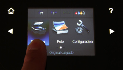 Función escaner de la HP Officejet Pro 8600