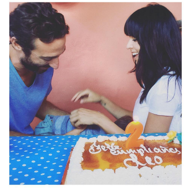 Raquel del Rosario celebra el segundo cumple de Leo en casa