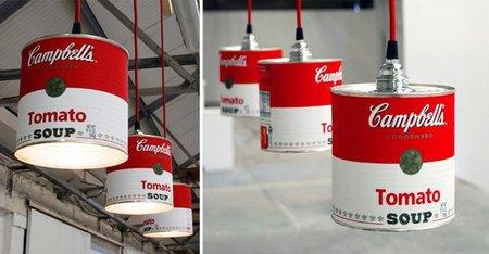 Recicladecoración: lámparas retro con latas de conserva