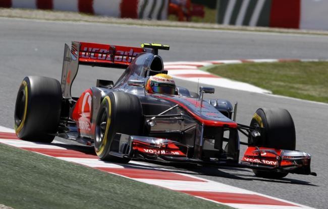 Lewis Hamilton Quali Barcelona 2012