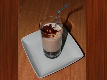 Batido energético (y sin lactosa) de plátano y chocolate. Receta