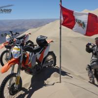 Reto conseguido: Christoph del Bondio, primera persona en ascender a Cerro Blanco en un vehículo