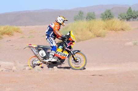 Rally de Marruecos 2009, quinta etapa