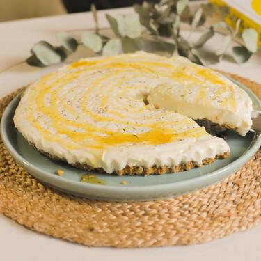 Tarta de queso con yogur y miel: receta sin horno de Yotam Ottolenghi
