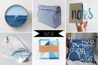 Añade un poco de azul y de verano a tu hogar con estos accesorios