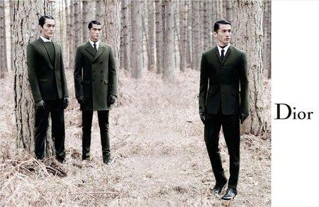 Minimal y oscura la nueva campaña de Dior Homme Otoño-Invierno 2012/2013