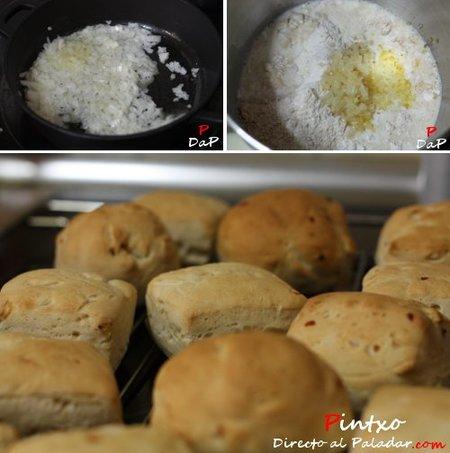Hacer pan de leche y cebolla