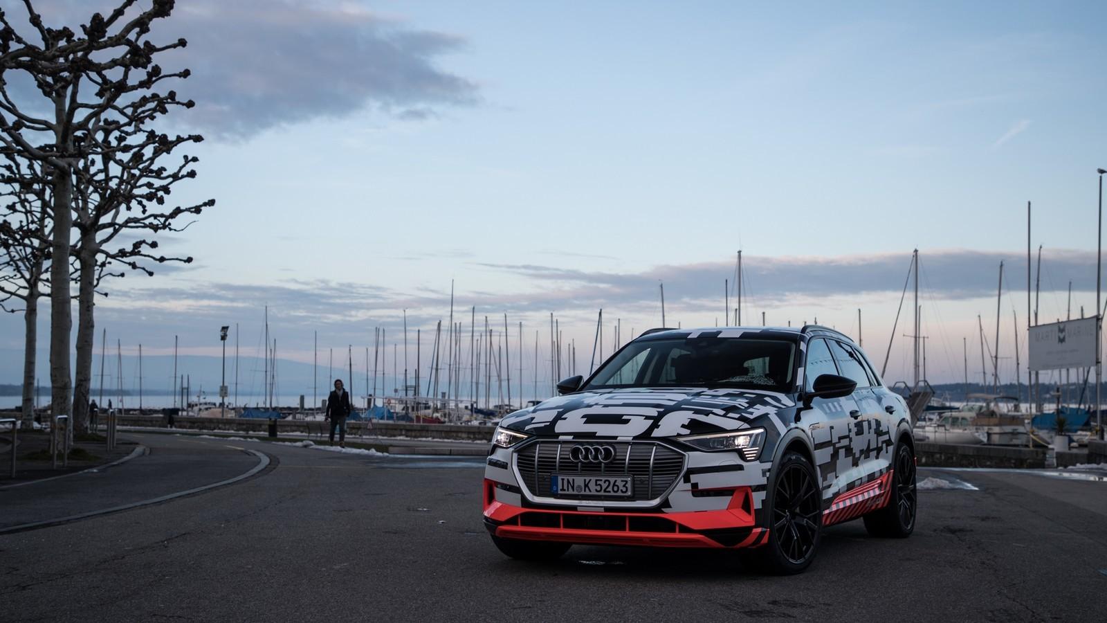 Foto de Audi e-tron prototype (20/21)