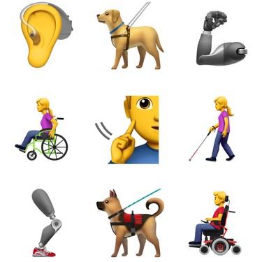 Nuevos emojis que representan personas con discapacidad llegarán a nuestros teclados