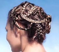 Las trenzas: tendencia en peinados 2009