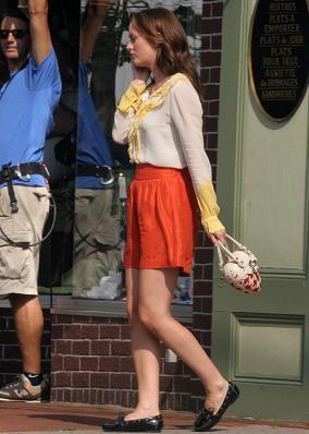 Más looks de la nueva temporada de Gossip Girl: Leighton Meester