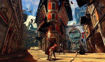 'DmC: Devil May Cry', nuevo vídeo con Dante escapando de una ciudad tan viva como peligrosa