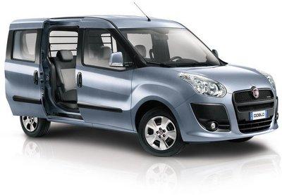 La furgoneta Fiat Doblò hará las Américas en 2013