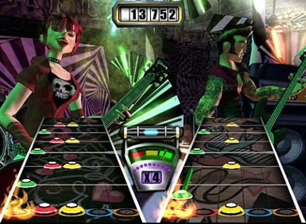 Guitar Hero II de 360 no vendrá con modo multijugador online de serie