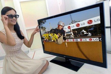 LG se pasa poco a poco a las gafas pasivas para sus televisores 3D