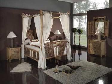Materiales naturales para 2008: Madera, mimbre y bambú