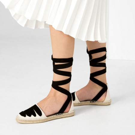 Zara Anpargata Lace Up