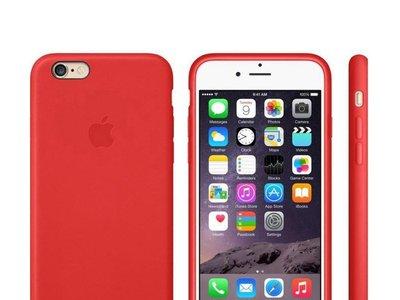 Funda Leather Case para el iPhone 6/6s, oficial de Apple, por 26,52 euros