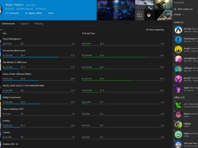 ¿Está Microsoft trabajando en un nuevo sistema para los logros de Xbox con niveles y cajas de botín para los nuevos avatares?