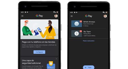 Google Pay añade el modo oscuro en su última actualización