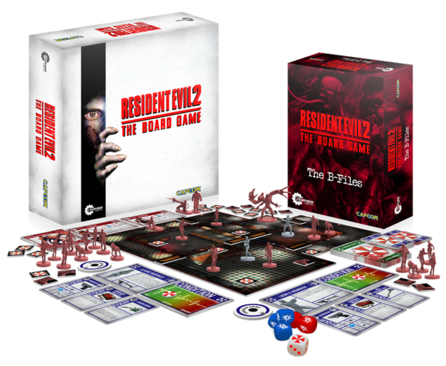 El juego de mesa de Resident Evil 2 logra ser financiado en Kickstarter en tan solo una hora