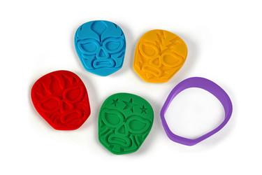 Moldes para galletas Muncha Libre