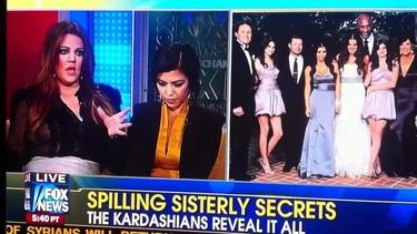Los pezones de Khloe Kardashian tienen un afán de protagonismo que les viene de familia, seguro
