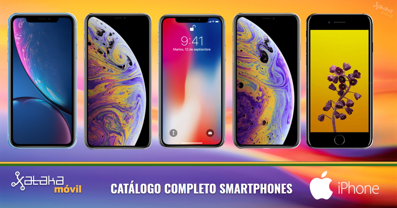 dec240d9006 Así queda el catálogo completo de iPhones a la venta en 2018 y sus  diferencias