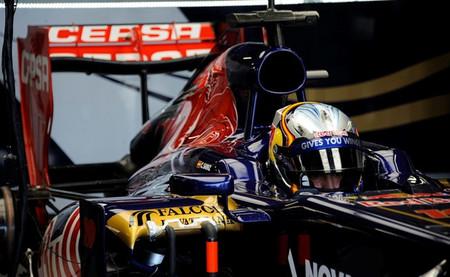Carlos Sainz Jr admite que un salto a Toro Rosso para 2014 está fuera de discusión