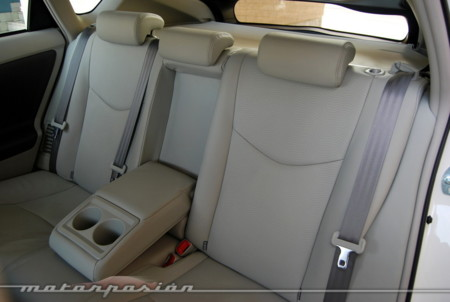 Toyota Prius 2009 plazas traseras