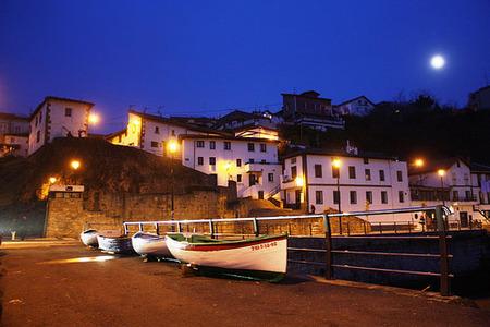 El Puerto Viejo de Getxo en Bilbao