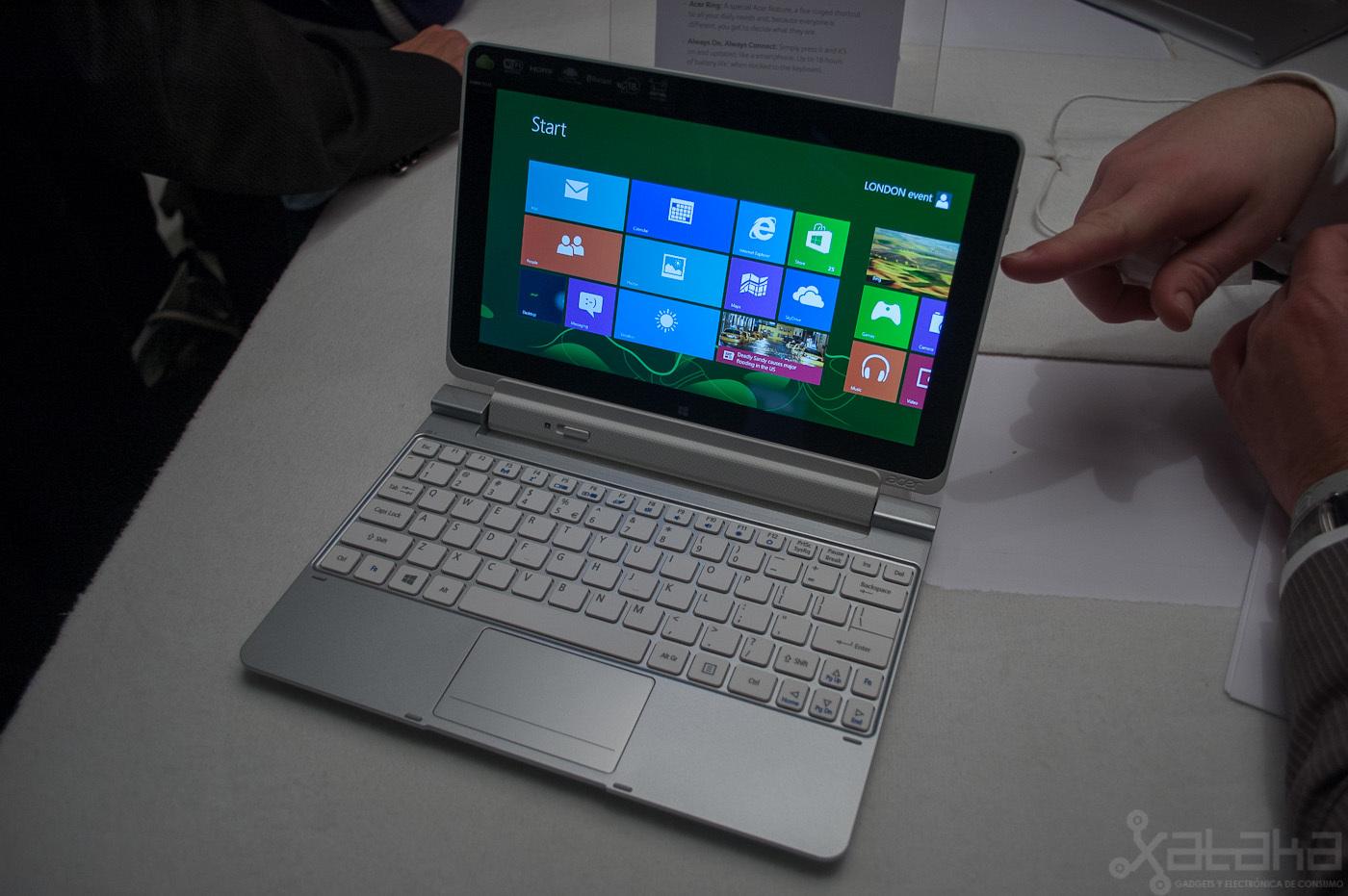 Foto de Acer Iconia W510, primeras impresiones (9/14)