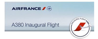 Subasta de vuelos inaugurales en Airbus 380