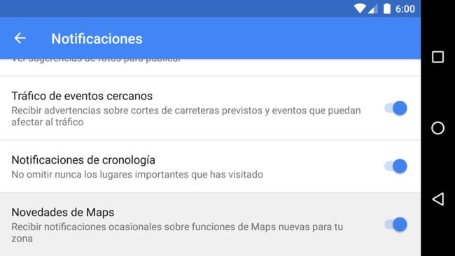 Novedades Maps