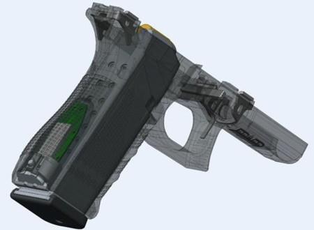 Esta pistola pedirá refuerzos automáticamente si se dispara o se queda sin balas