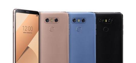 LG G6+ ya está disponible en México: un G6 con 128 GB de almacenamiento interno, este es su precio