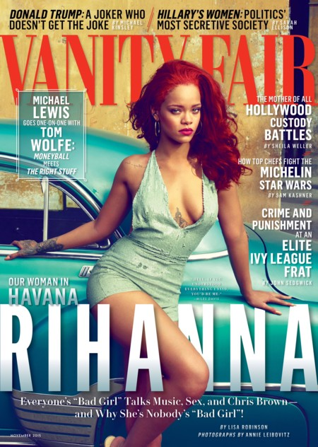 Vanity Fair USA: Rihanna