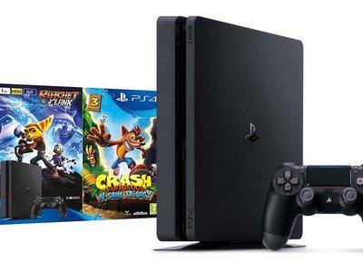 Con este pack de PS4 + Crash Bandicoot y Ratchet & Clank, tendrás juego apra todo el verano por 329,90 euros en Amazon