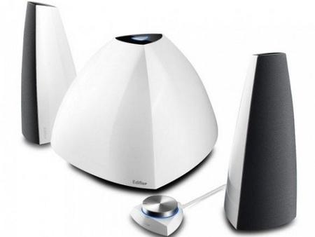 Edifier Prisma E3350BT,  altavoces inalámbricos con un formato peculiar