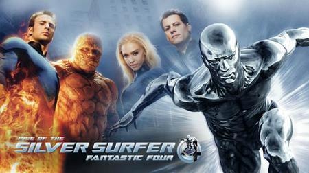 Silver surfer y los 4 fantasticos