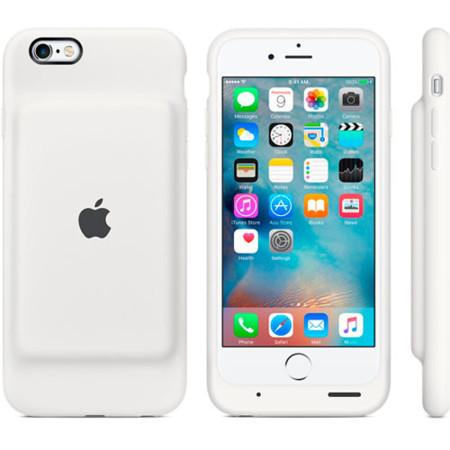 Apple Smart Battery Case Blanco
