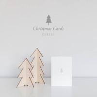 Las tarjetas navideñas más minimalistas