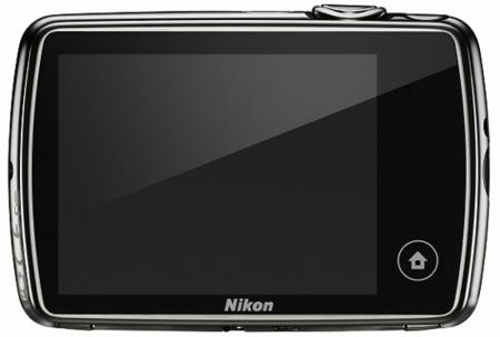 Nikon CoolPix S01 pantalla